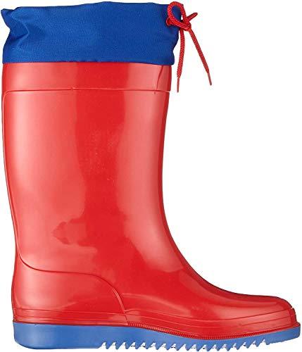 Romika Unisex-Kinder Bobby Gummistiefel, Rot (Rot-Blau 413), 38 EU