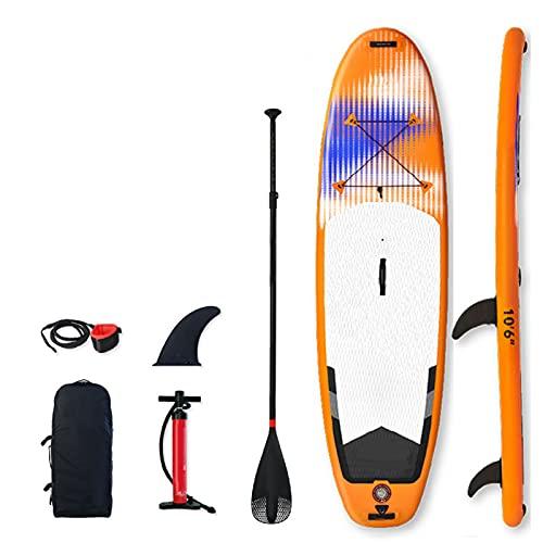 Tabla De Paddle Surf Hinchable,Unisex Tabla SUP Paddleboard Kit,Stand Up Paddle Board,12 CM De Espesor,Kayak,Almohadilla Integrada,Accesorios Completos,320 * 84 * 12cm