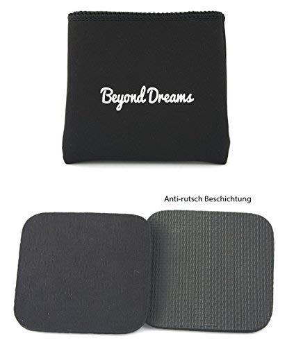 Beyond Dreams Fitness Grip Pad para entrenamiento| | Alternativa a guantes | Almohadillas de agarre para entrenamiento y de gimnasio de culturismo y crossfit | Protección contra córneas y ampollas