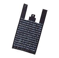 アズワン レジ袋 ブラック 30×55(39)×横マチ15 入数2000枚/61-7292-20