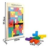 Immagine 1 flybiz 40 pezzi puzzle tetris