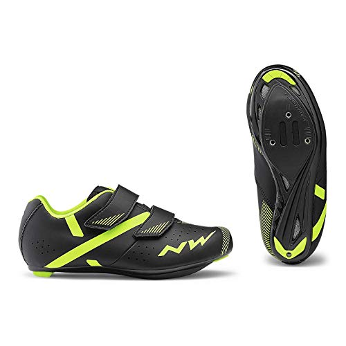 NORTHWADE Sapatos Est NW Torpedo 2 JUNIOR Fahrradschuhe, Black/Yelllow, 36 EU