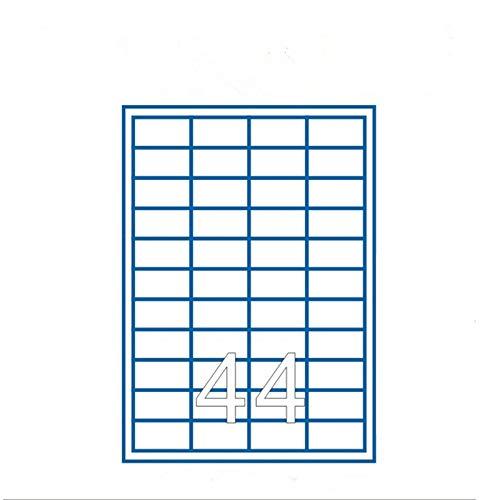 LaceDaisy Autoadhesivas A4 Amazon FBA etiquetas de código de barras (100 hojas,...