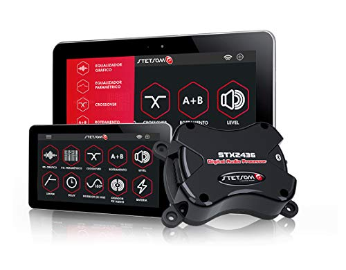 Stetsom STX 2436 Bluetooth Digital Audio Processor Android Enabled Equalizer