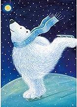 wtnhz Oso de Dibujos Animados Punto de Cruz Bordado Animal Oso Polar Regalo Infantil Sin Marco