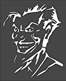 1- 7x9 inch Custom Cut Stencil, (VE-20) Joker Arts and Crafts Scrapbooking Painting on The Wall Wood Glass