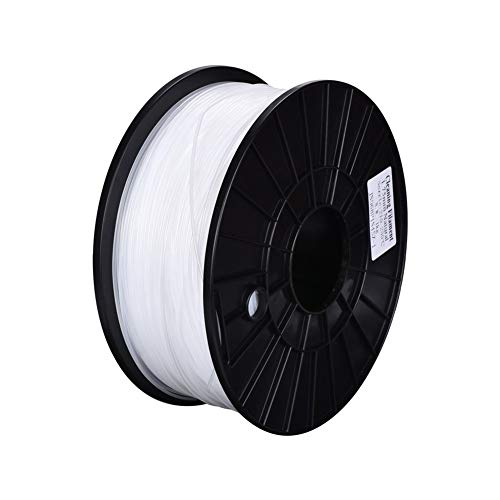Nologo MZHE 3D Printer Filaments 100g Natural 3D Printing Pen Plastic Threads Wire 1.75 Mm Printer Consumables 3D Pen Filament Suitable for most printers, making your printer q