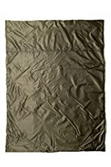 Blanket dimensions are 90 inches by 72 inches; suitable for camping and emergencies Lightweight, high loft fiber insulation will not lose function even after compression packing; completely windproof to protect you from the elements Temperature ratin...