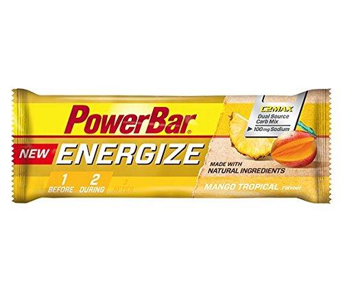 Barrita Energética New Energize PowerBar 12 x 55g Mango Tropical