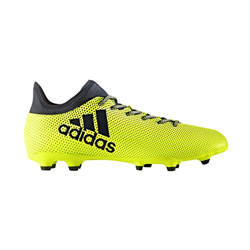 adidas Men's X 17.3 FG Soccer Shoe, Solar Yellow Legend Ink, 10 Medium US