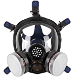Best Gas Masks - Full Face Respirator Mask Gas Chemical dust paint Review