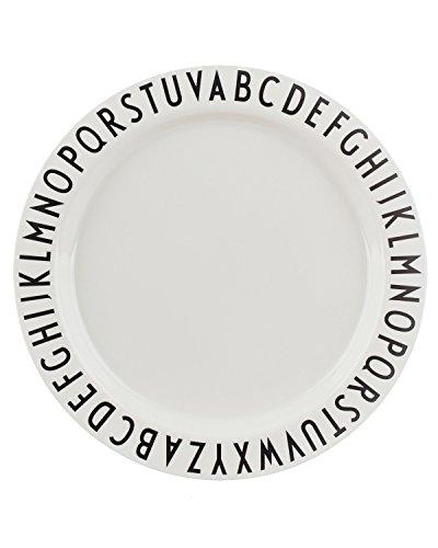 Design Letters AJ Grande assiette en mélamine, Ø 24 cm