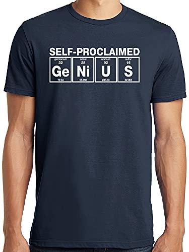 Hanes Men's Lightweight Graphic T-Shirt Collection, Genius, Medium