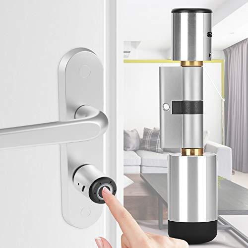 Biometrischer Fingerabdruck, Türbeschläge & -schlösser Türriegelschlösser Türschloss Elektronischer Zylinder Bluetooth APP Security Smart Lock