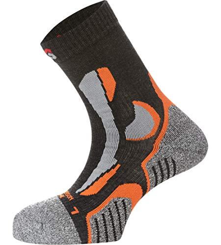 WÜRTH MODYF Arbeitssocken All Season anthrazit orange: Weiche Socken für Sicherheitsschuhe aus technischem Gewebe sind in der Größe 45-47 erhältlich.
