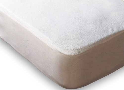 Terry Towelling Waterproof Mattress Protector Super King Size by Nights UK