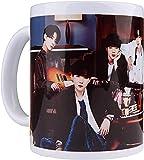 KEROTA Taza de café de cerámica coreana Bangtan Boys Tazas estéticas A.R.M.Y taza de té con mango clásico