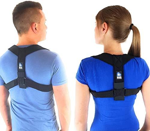 BACK SOLUTION Haltungskorrektur Rücken Geradehalter Schulter Rückenstütze für eine Gesunde Haltung für Damen und Herren