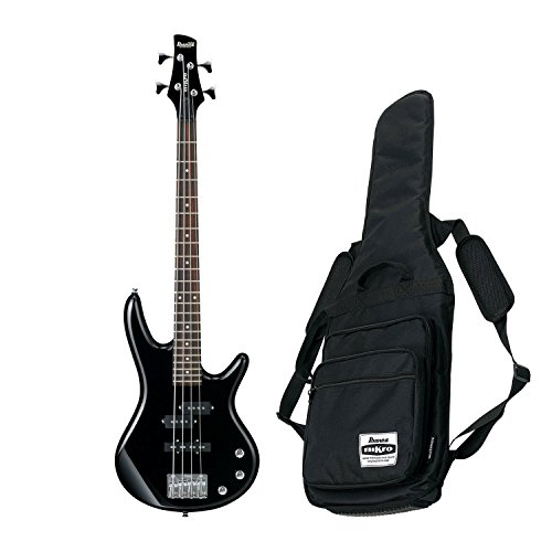 Ibanez GSR Mikro Compact Electric Bass Guitar (Black)