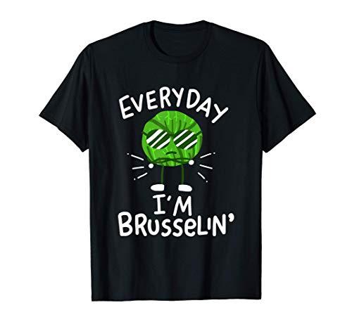 Rosenkohl Gemüse Vegan T-Shirt