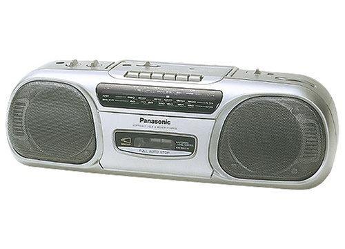 Panasonic RX-FS 430E-S tragbarer Radiorekorder silber