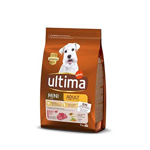 ultima Pienso para Perros Mini Adult con Buey - 3 kg 🔥