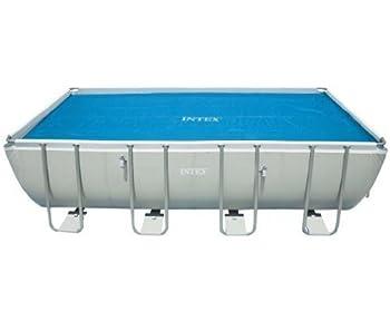 Intex Solar Cover for 18ft X 9ft Rectangular Frame Pools Measures 17  8  X 8  4