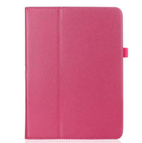 Generic Slim Lightweight Smart Cover Case for iPad 8th / 7th Generation 10.2',Embossed PU Leather Folio Stand Auto Wake/Sleep Case for Apple iPad 10.2 inch 2019,2020 (rose)