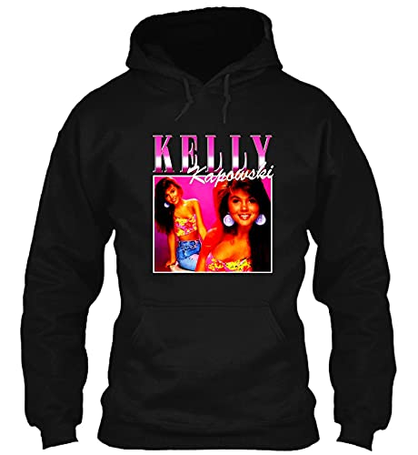 Kelly Kapowski Black Hoodie, Adult and Youth Sizes up to 4XL