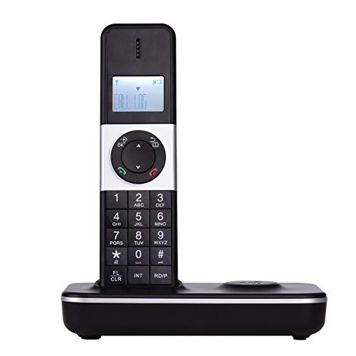 Teléfono Inicio Teléfono Inalámbrico Digital con Pantalla LCD ID De Llamada Llamadas De Manos Libres Conferencia Llamada Llamada Anexts Connection para Office Home