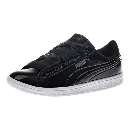 Puma Damen Vikky Ribbon P Sneaker, Schwarz Black Black, 38 EU
