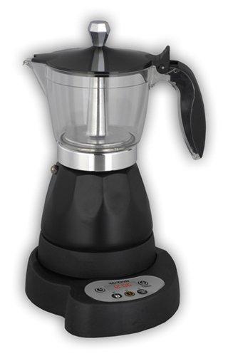 Mx Onda MX-CE2254 Libera installazione Manuale Boccale per moca elettrico 0.3L Nero macchina per caffè