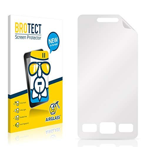 BROTECT Panzerglas Schutzfolie kompatibel mit Samsung GT-S5260 - AirGlass, 9H Härte, Anti-Fingerprint, HD-Clear