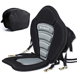 WOOWAVE Adjustable Padded Kayak Seat