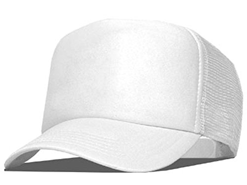 Bastart Caps Raphia Art White Casquette en maille