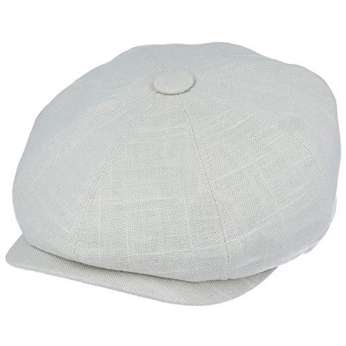 Gorra de Lino Ligera de 8 Paneles