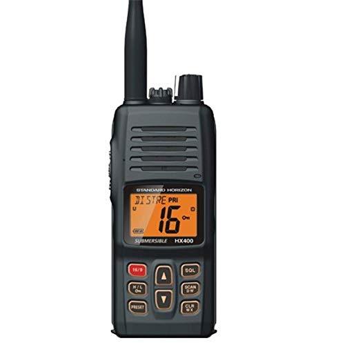 Standard Horizon HX400 W/SBR-29LI, Handheld VHF Marine Radio
