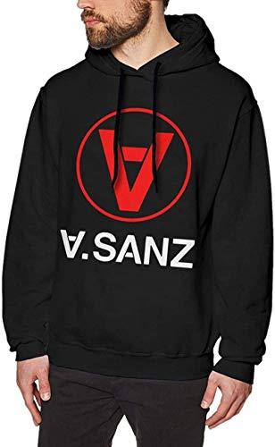 Introver Alejandro SANZ Hoodie Mens Sweatshirt Long Sleeve Shirt Winter Comfortable Workwear...