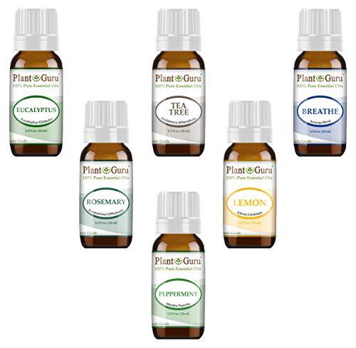 Plant Guru Sauna Essential Oil Set