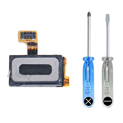 MMOBIEL Hörmuschel kompatibel mit Samsung Galaxy S7 Edge G935 Series Lautsprecher mit 2 x Schraubenzieher