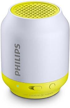 Philips BT2500B//37 Wireless Portable Bluetooth Speaker with Mic