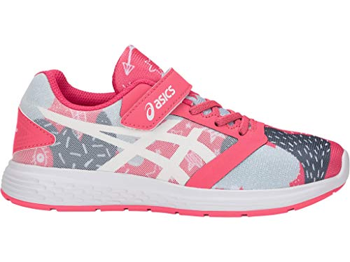 ASICS Kid's Patriot 10 PS SP Running Shoes, 3, Pink Cameo/White