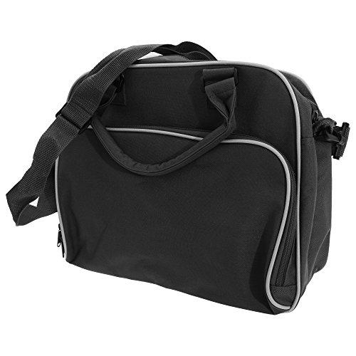 Bagbase - Bolsa bandolera junior modelo Dance ( 15 litros ) (Talla Única/Blanco/Negro)