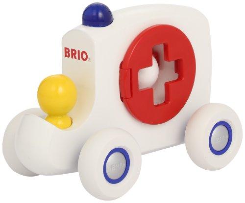 Brio 30210 - Krankenwagen Schiebefahrzeug