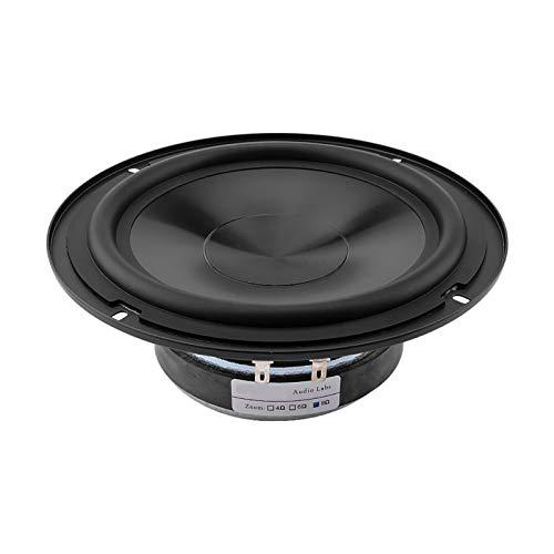 WNJ-TOOL, 1 stücke 6,5 cm ultradünne mittelbass toofer Lautsprecher 50w hohe sensibilität gummikante Mittelalter bass Lautsprecher für Home DIY