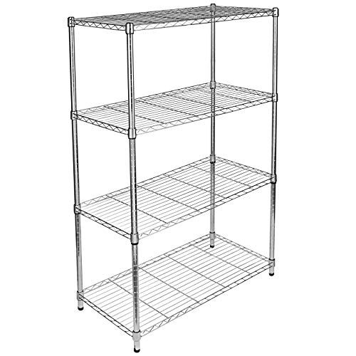 YAHEETECH Heavy Duty Steel Garage Shelving Utility Storage Rack Adjustable Boltless 5-Shelf Shelving Unit Space Saver Display Stand, 71 inches Height