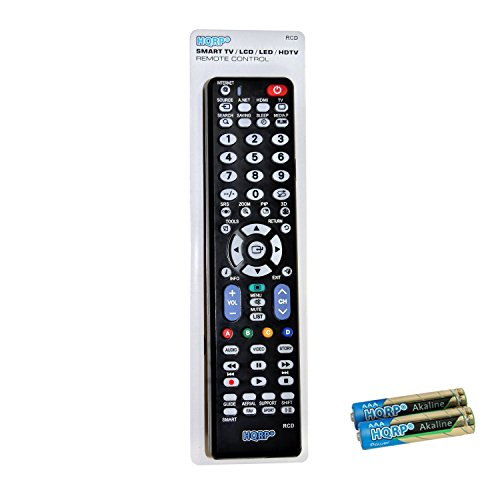 """HQRP Remote Control Compatible with Samsung F7100 Series Smart UN75F7100AFXZA UN65F7100AFXZA UN60F7100AFXZA UN55F7100AFXZA UN46F7100AFXZA 75"""" 65"""" 60"""" 55"""" 46"""" LCD LED HD TV"""