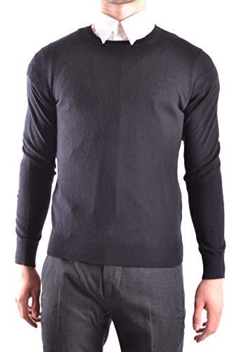 BURBERRY Herren Mcbi28744 Schwarz Wolle Sweater