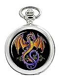 Guiverno Alchemy Dragón Reloj Bolsillo Hunter Completo