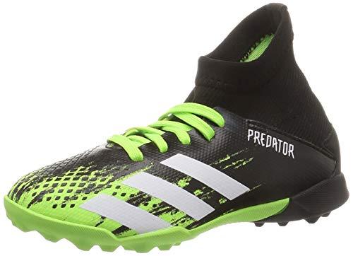 adidas Predator 20.3 TF J, Zapatillas de fútbol, Signal Green FTWR White Core Black, 28 EU